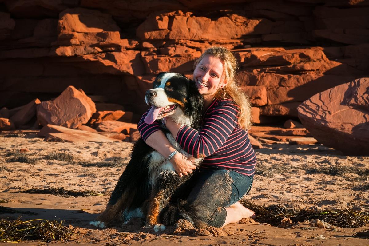 Zola, Burnese Mountain Dog