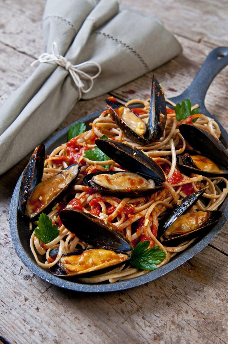 Mussel Recipes – Pasta