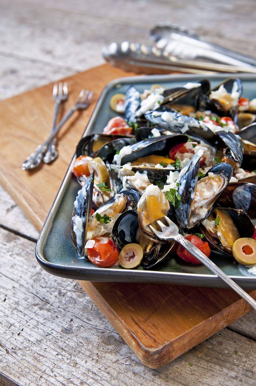Mussel Recipes – Greek