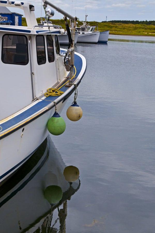 Tignish Fisheries Fishing Boat