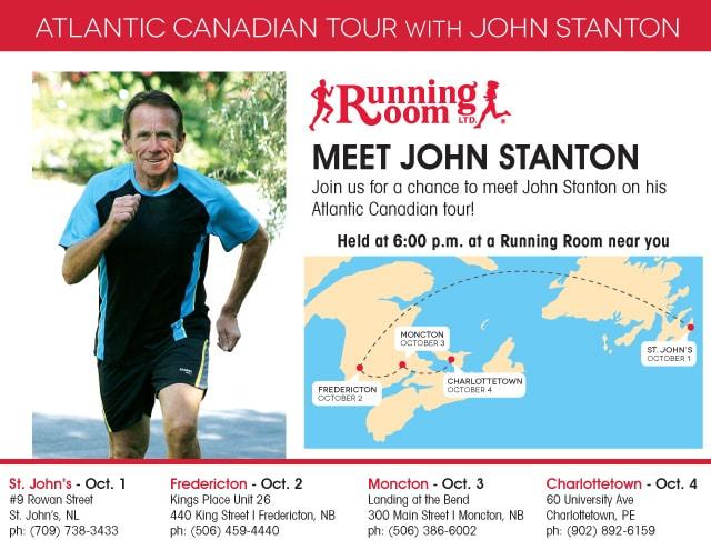 John Stanton Atlantic Canadian Tour 2013