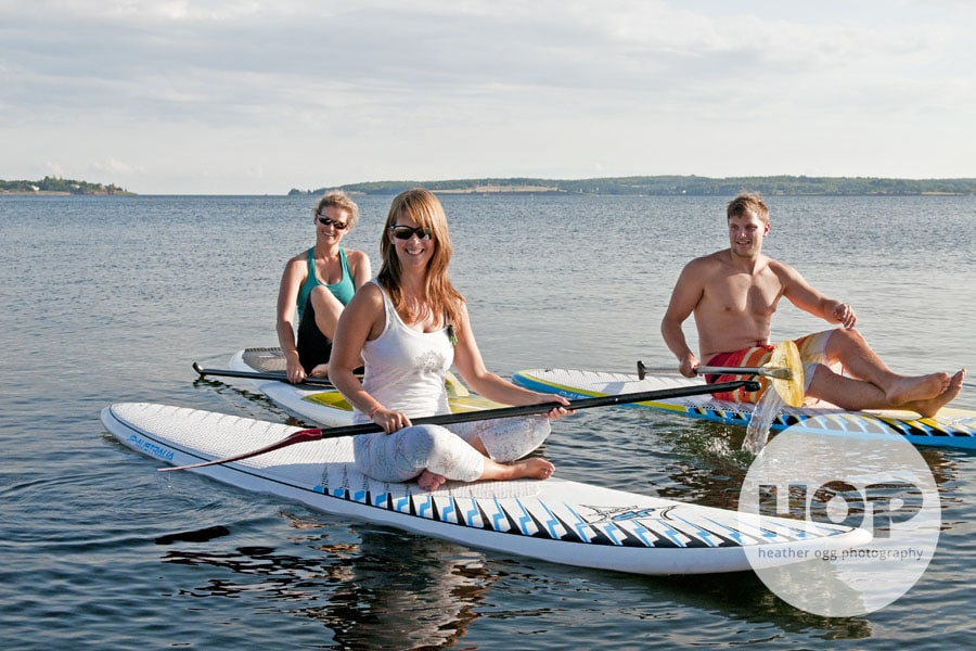 Paddleboarding in Charlottetown