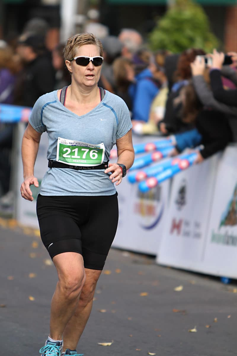 Heather Ogg PEI Marathon 2013