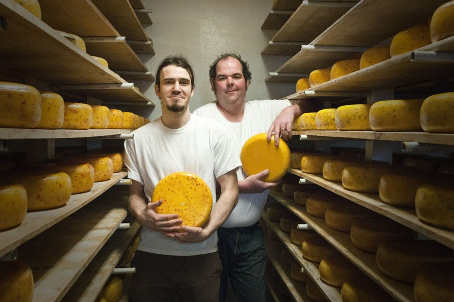 Chef Jeff McCourt and Cheesemaker Don