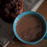 Hot Chocolate & Brownie Cake