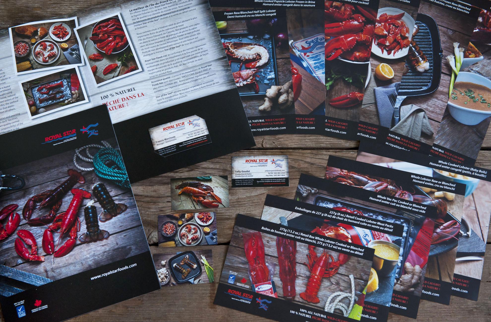Royal Star Foods Pocket Folder Product Sheets