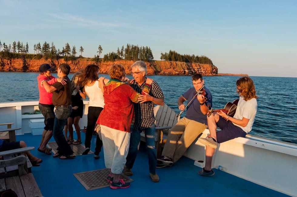 Set Dancing - The Fiddling Fisherman