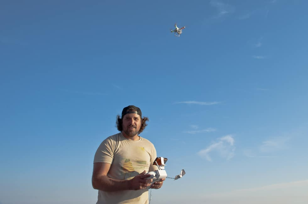 Brad L'Esperence Arial Drone Photography - The Fiddling Fisherman