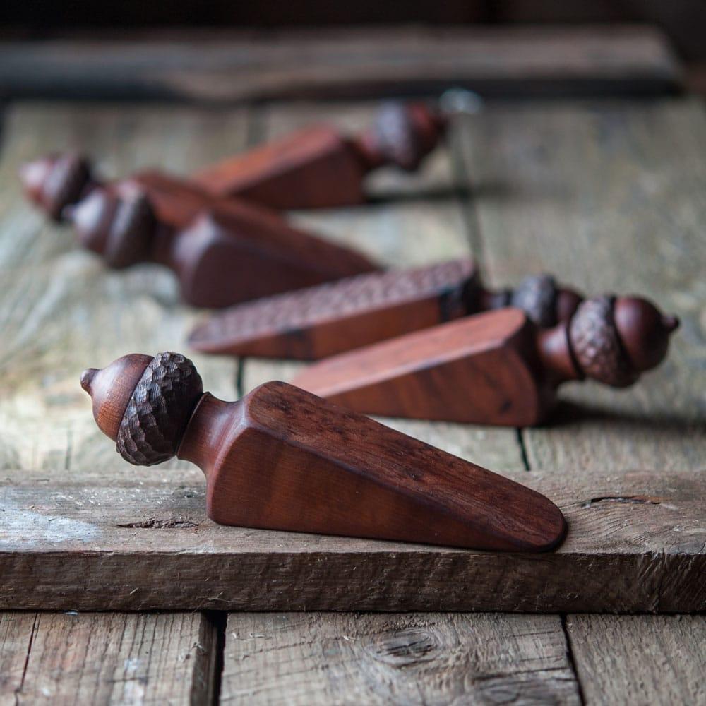 Cattails Woodwork Door Stoppers
