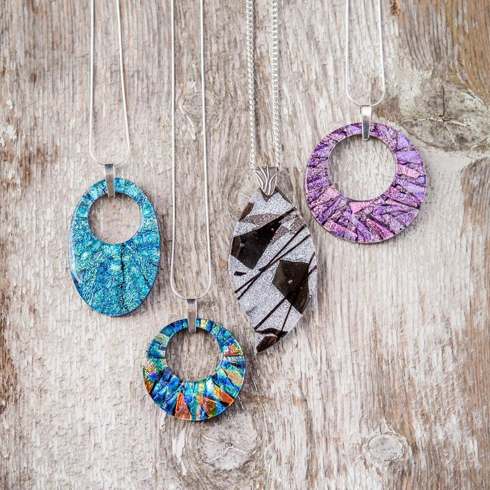Carmas Glass Necklaces