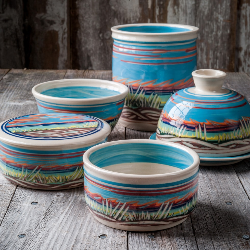 kitchen pottery