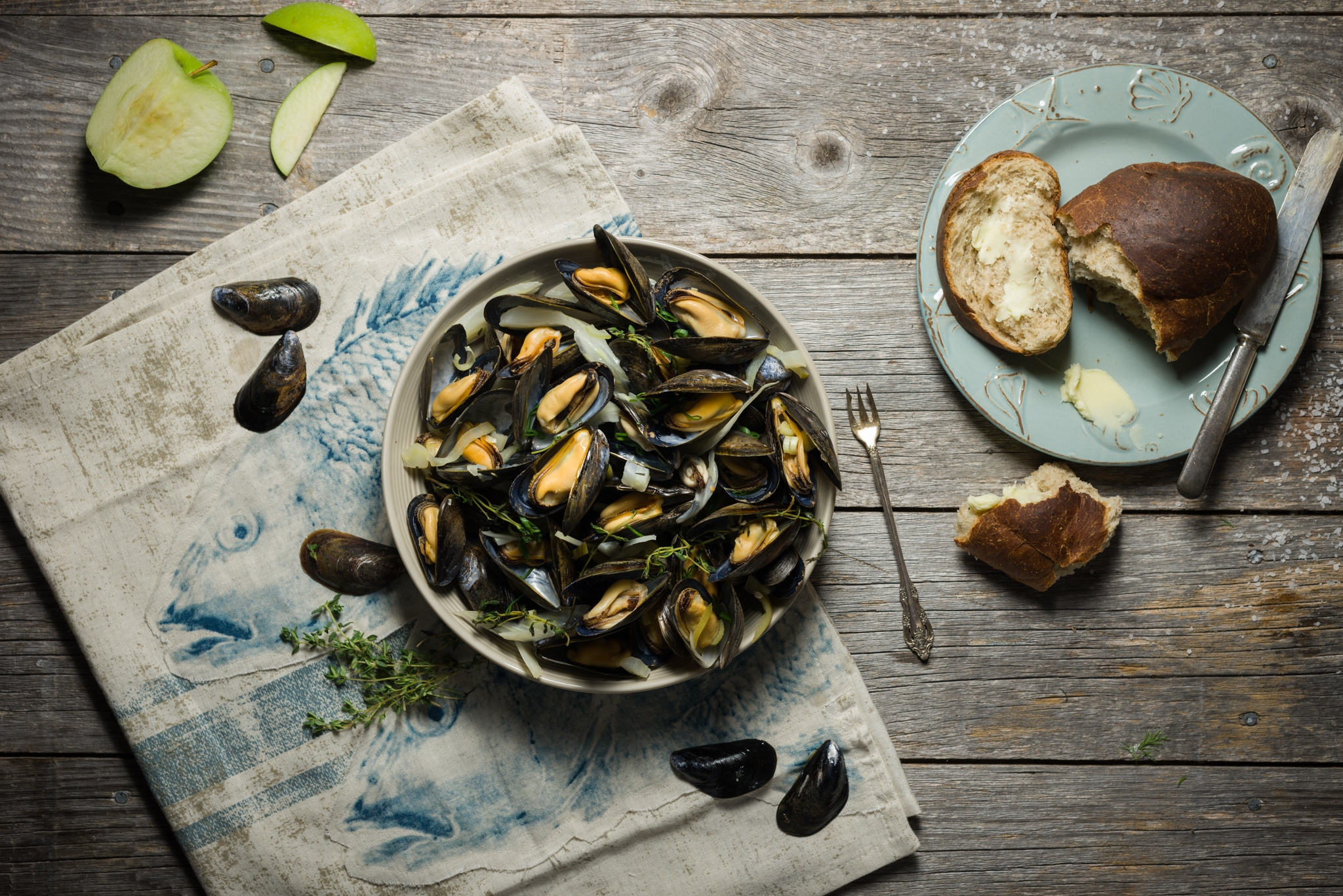 Best of Sea mussels