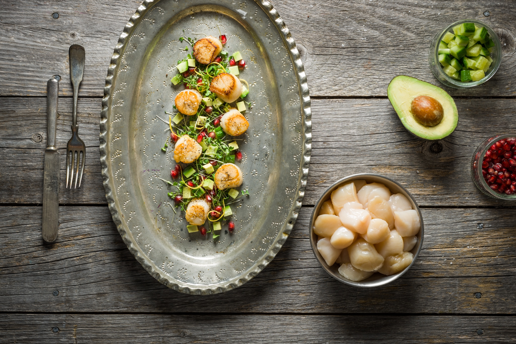 Best of Sea scallops