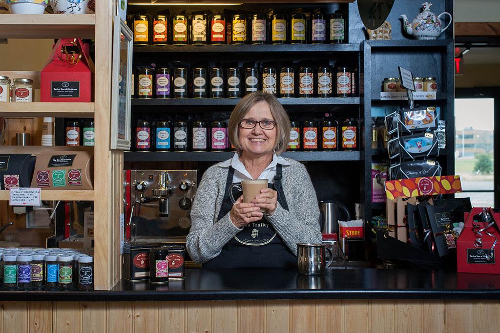 Katherine Burnett, Lady Baker's Tea Trolley