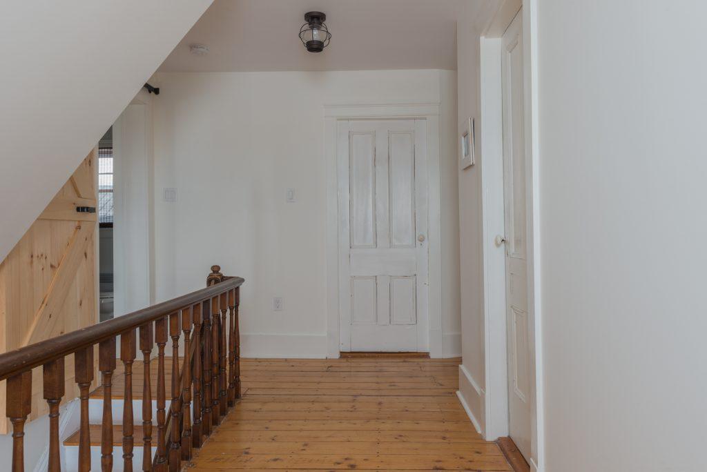 farmhouse upstairs hallway