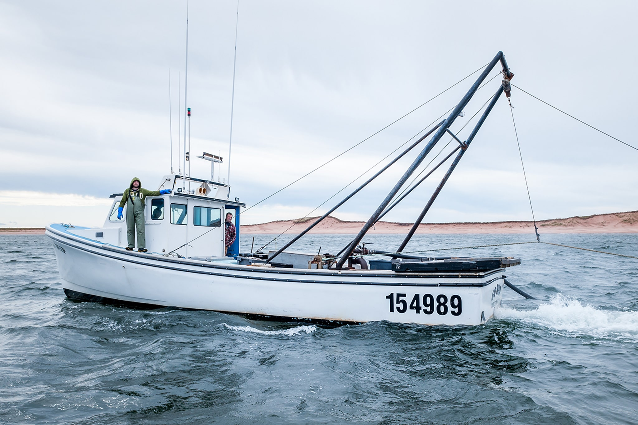 Annand Clams Clamming Boat