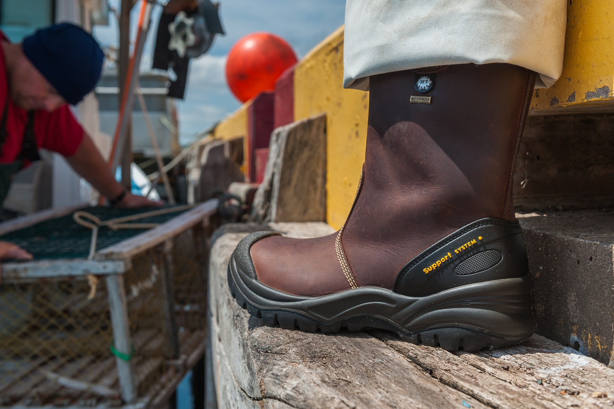 Atlantic Safety Wear Work Boots