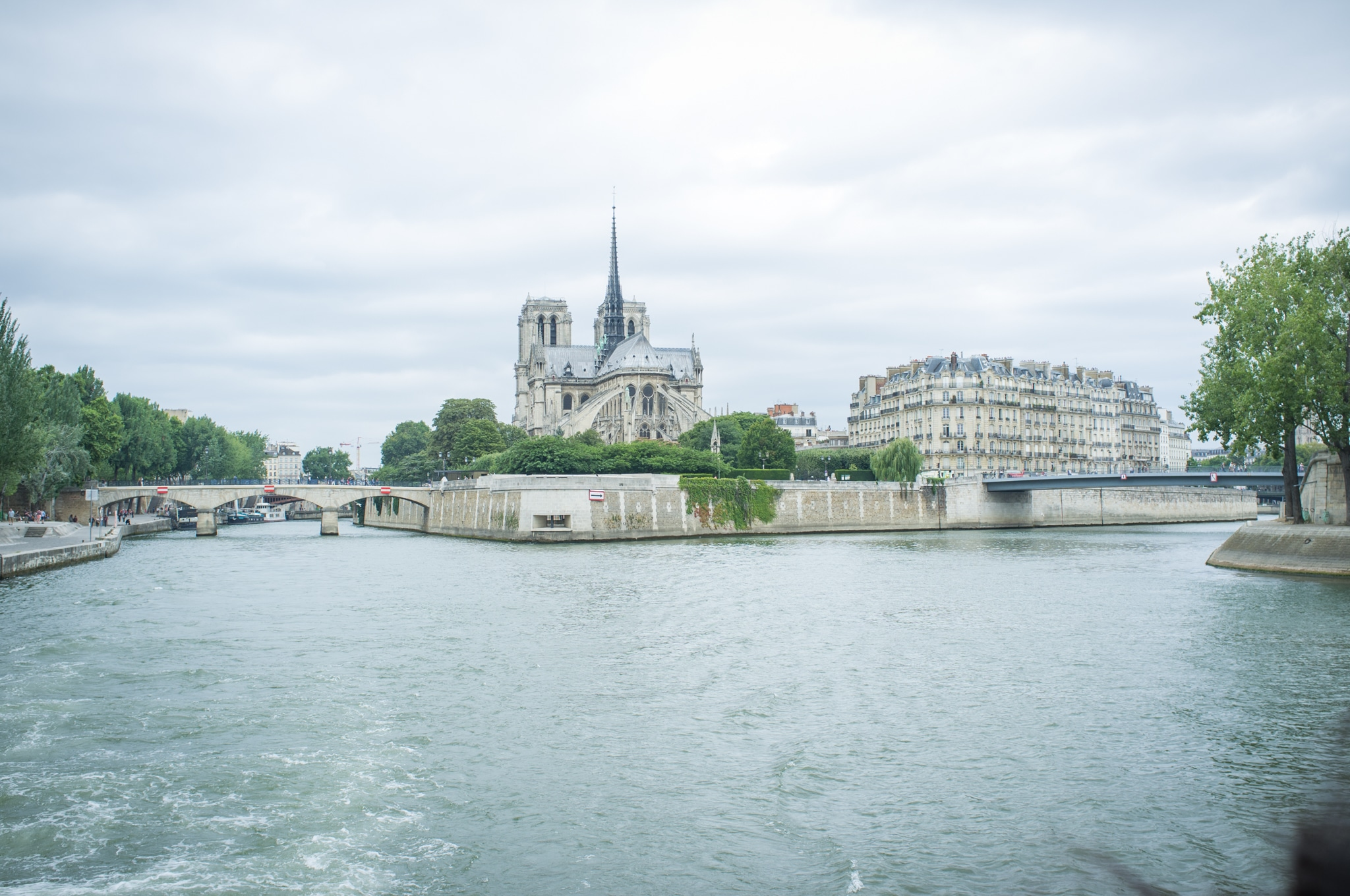 Notre Dame Cathedral, Seine River Cruise