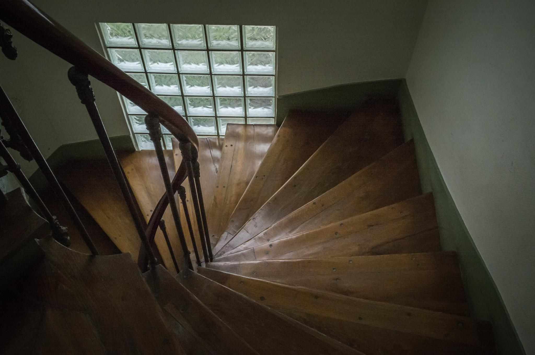 Paris apartment stairs