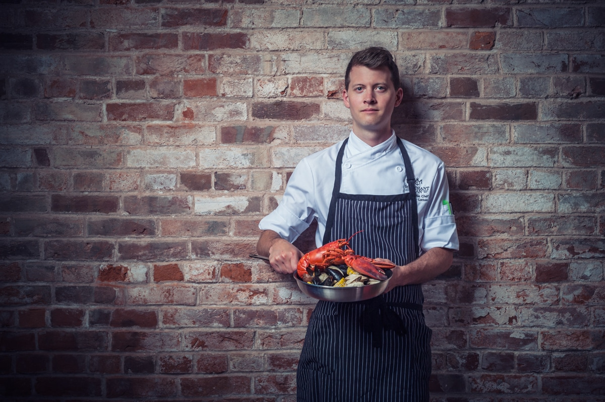 prince edward island chef andrew cotton
