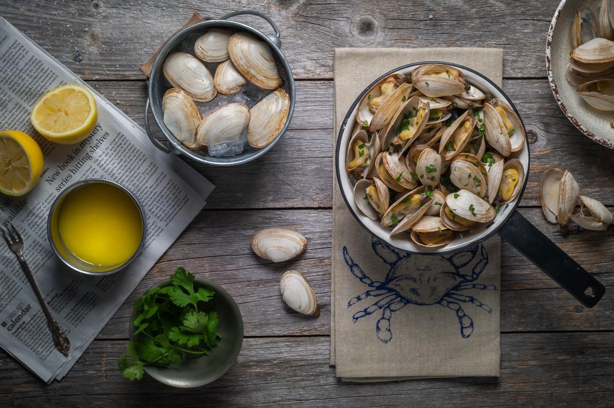 pei seafood clams