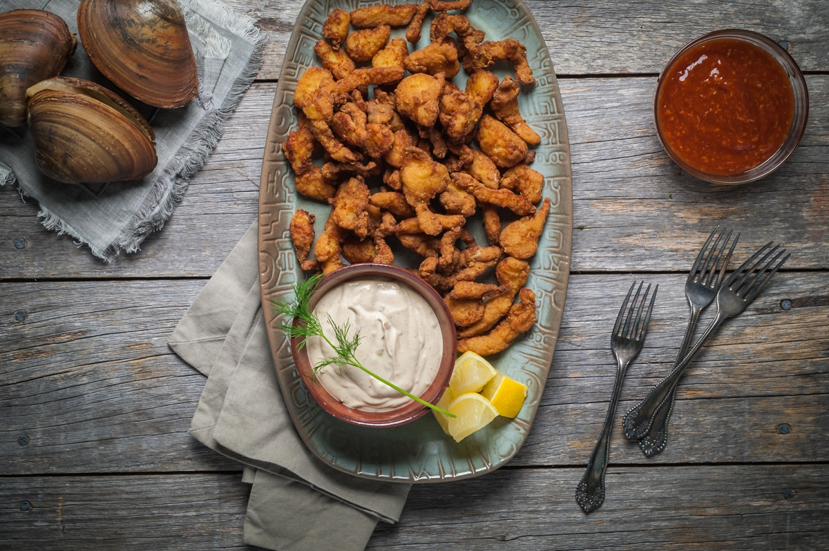 pei seafood deep fried clams