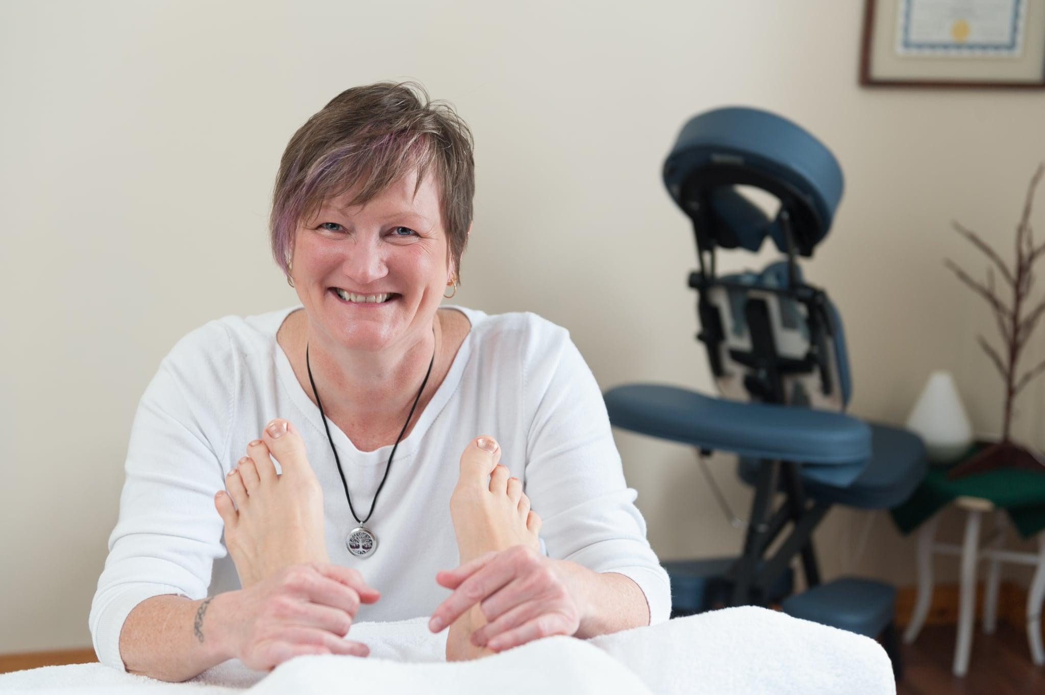 PEI Reflexologist Deborah Walsh