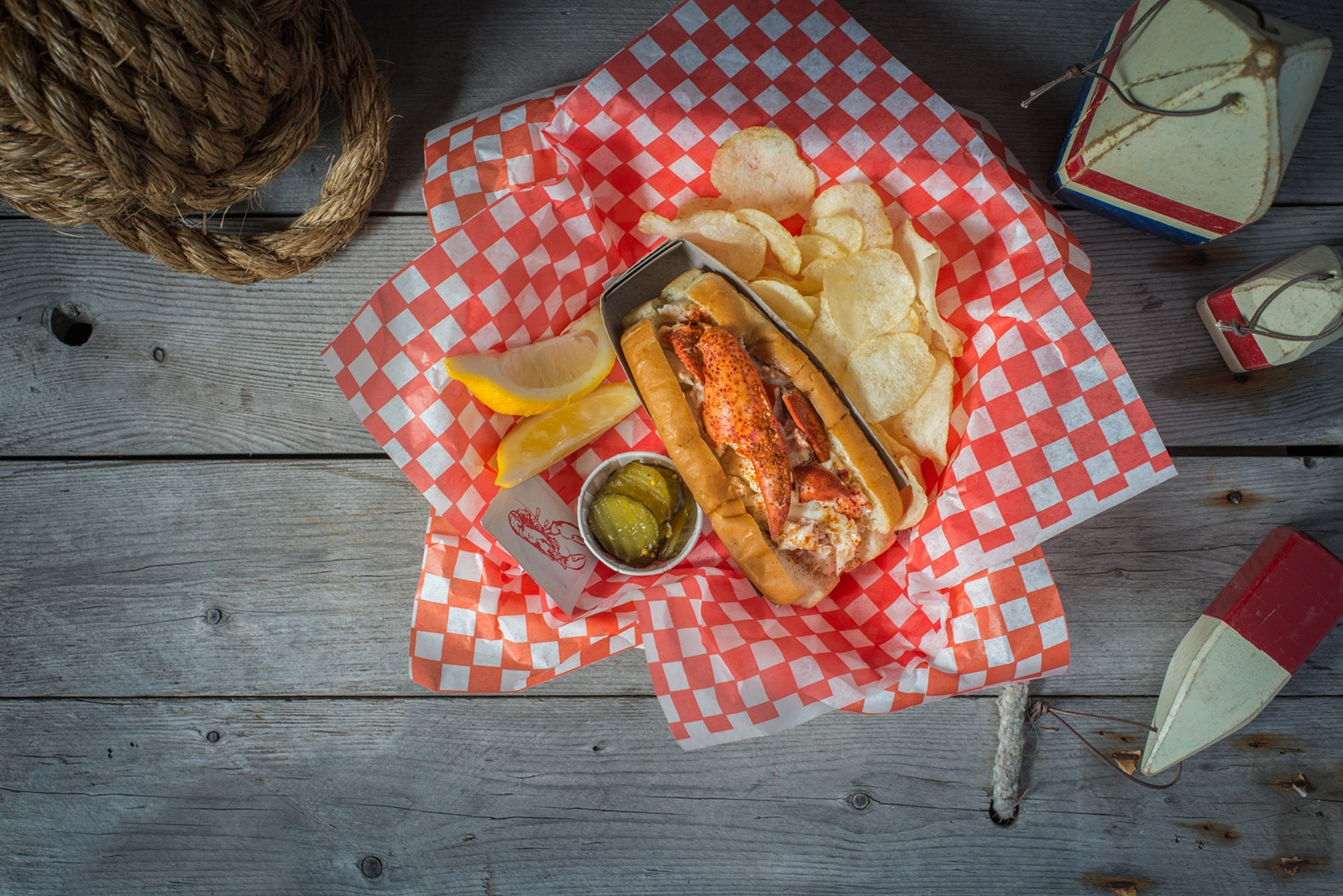 Colville Bay Oysters, The Lobster Shack Lobster Roll