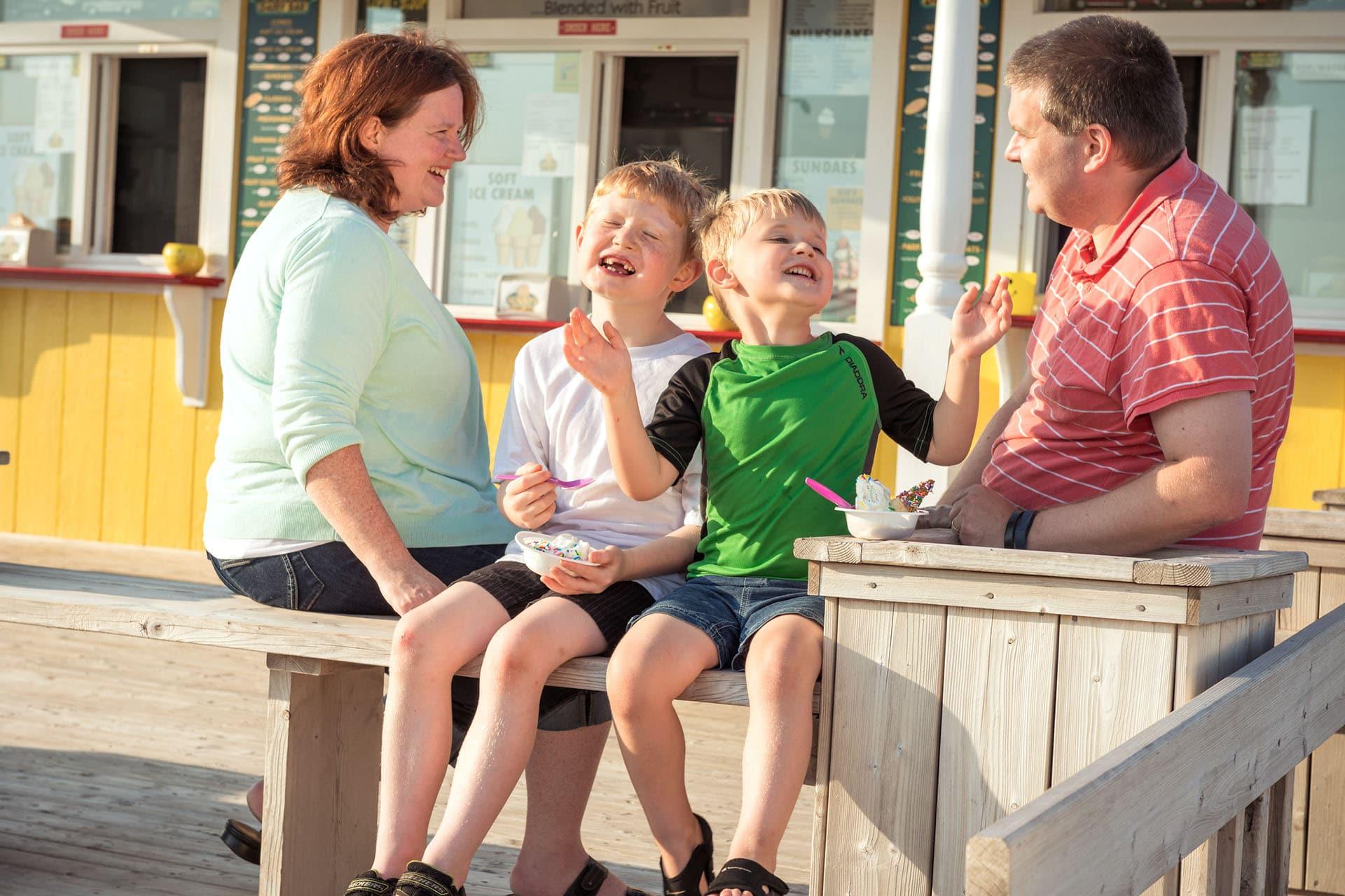 North Cape Coastal Drive, Ice Cream Kids