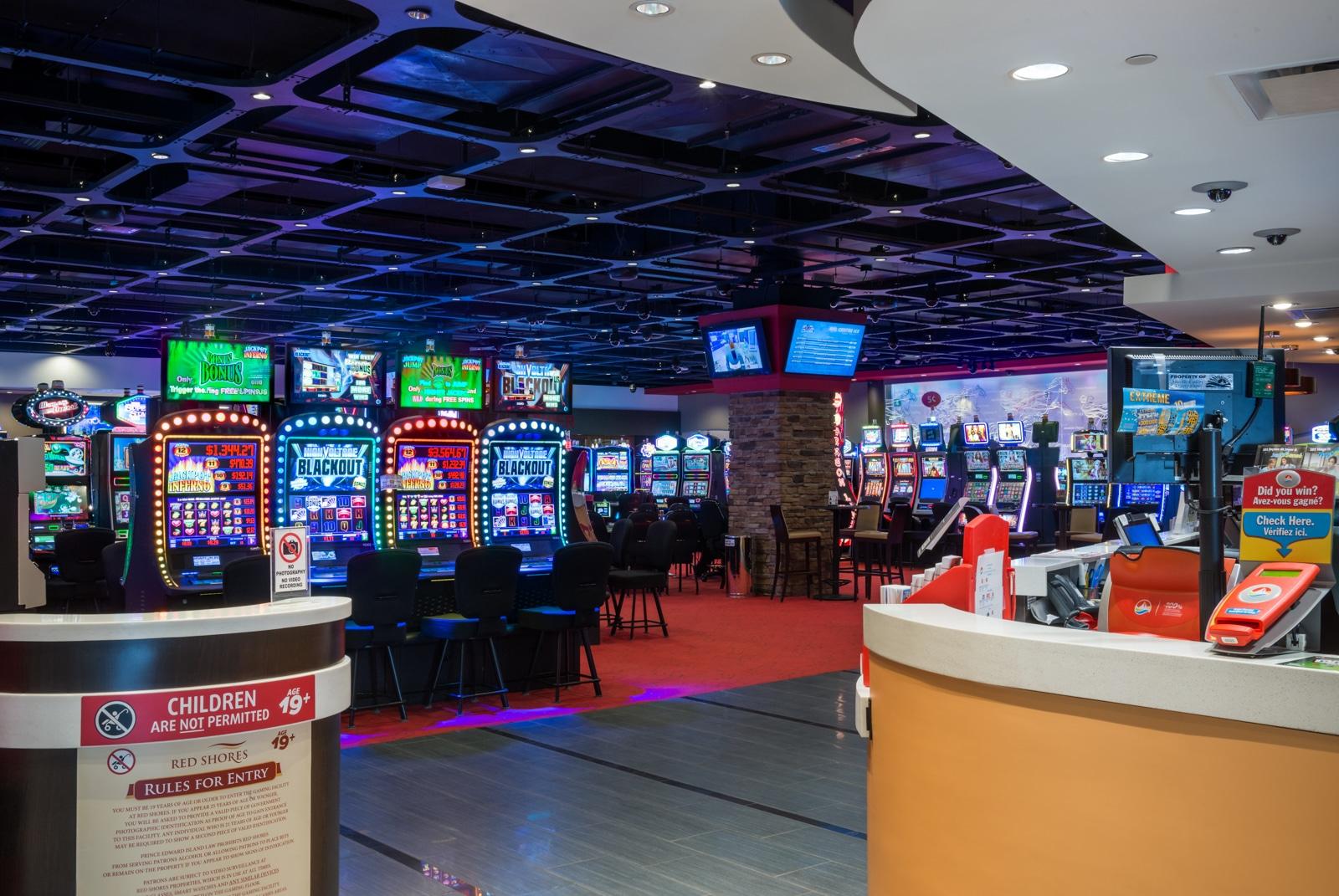 Red Shores Casino entrance