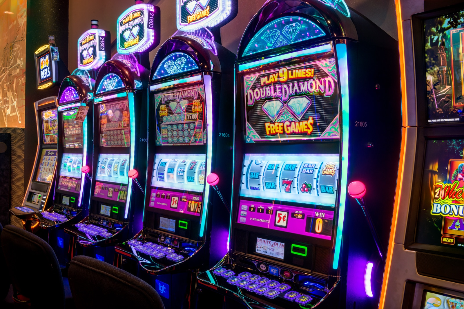 Red Shores Casino slot machines