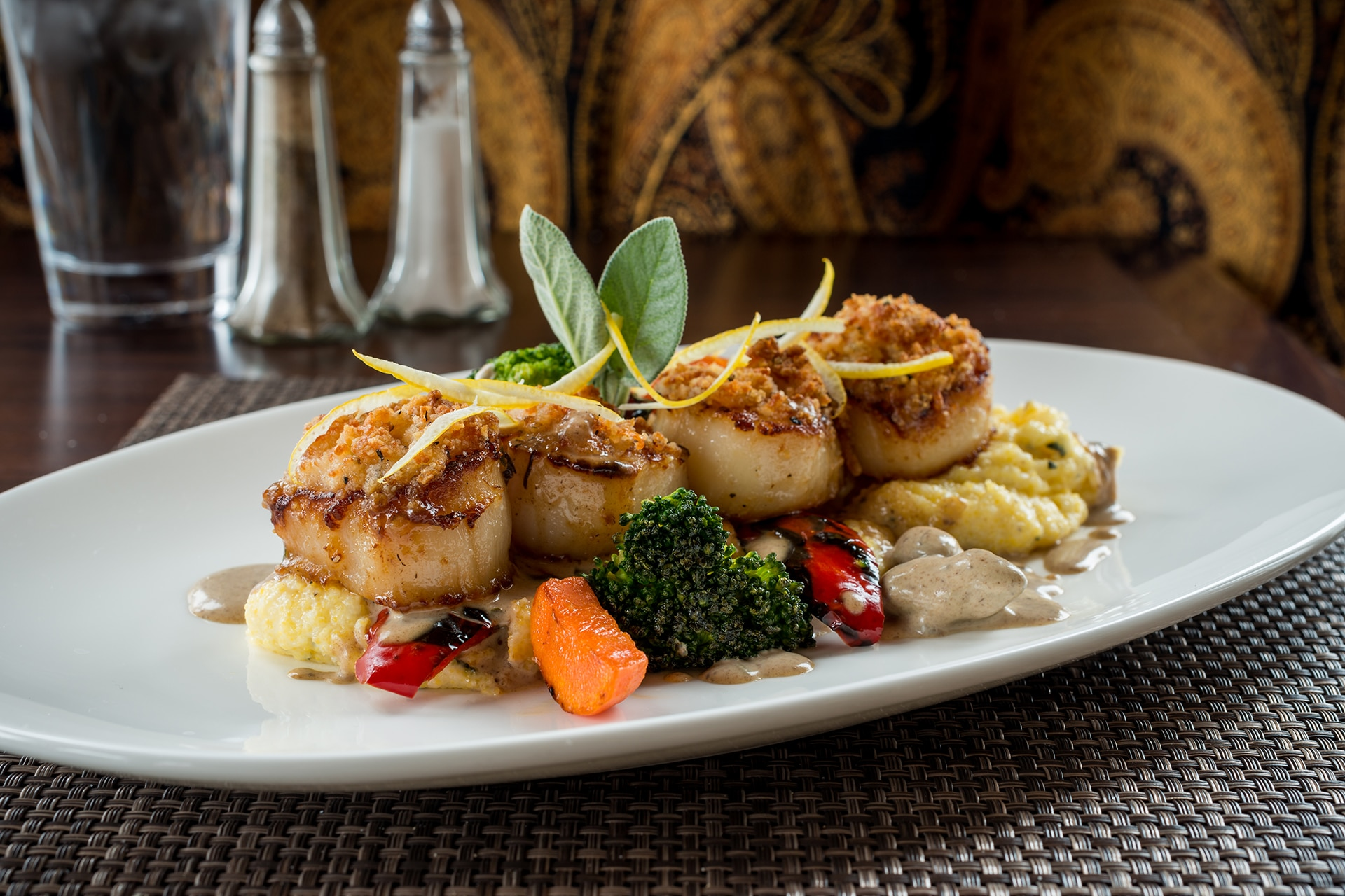 Clam Diggers Restaurant scallops