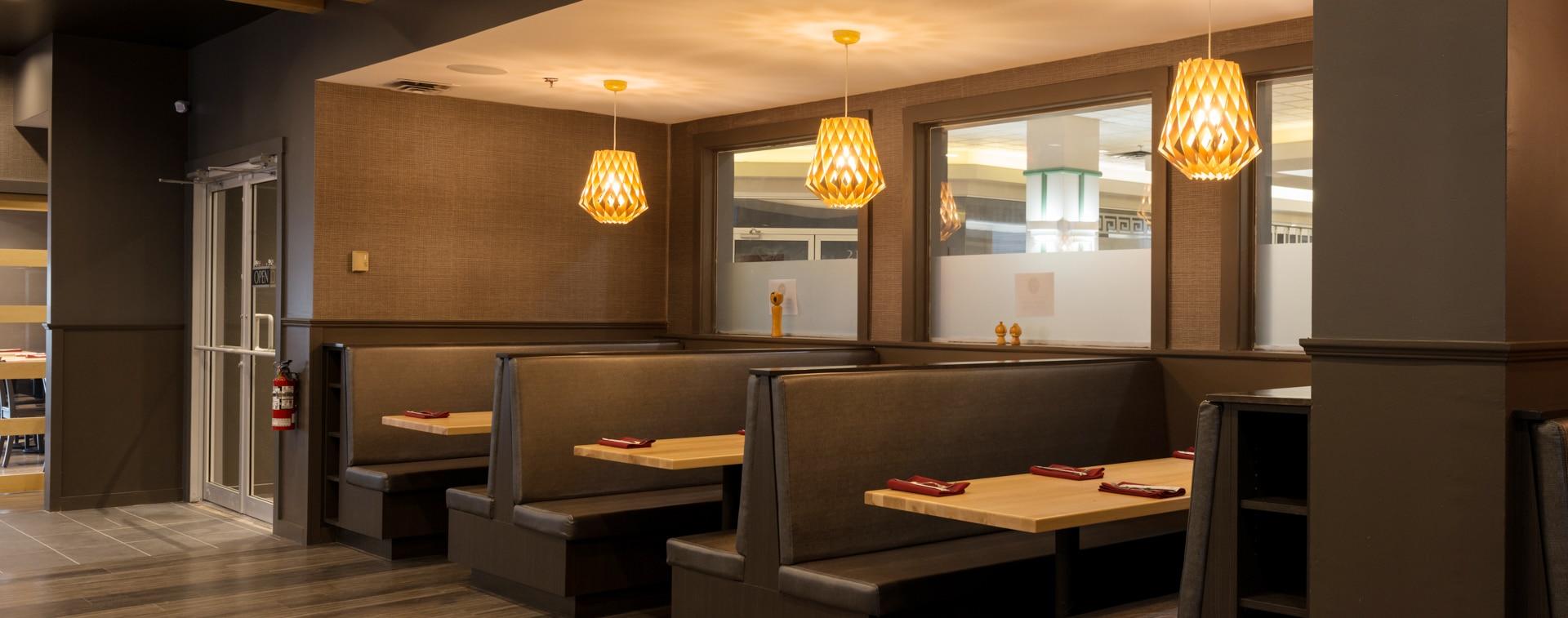 Hojo's Japanese Cuisine interior