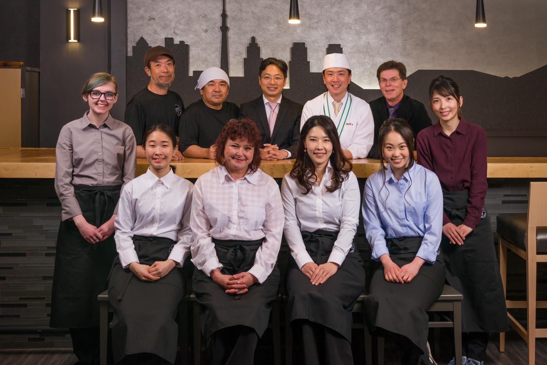 Hojo's Japanese Cuisine Team