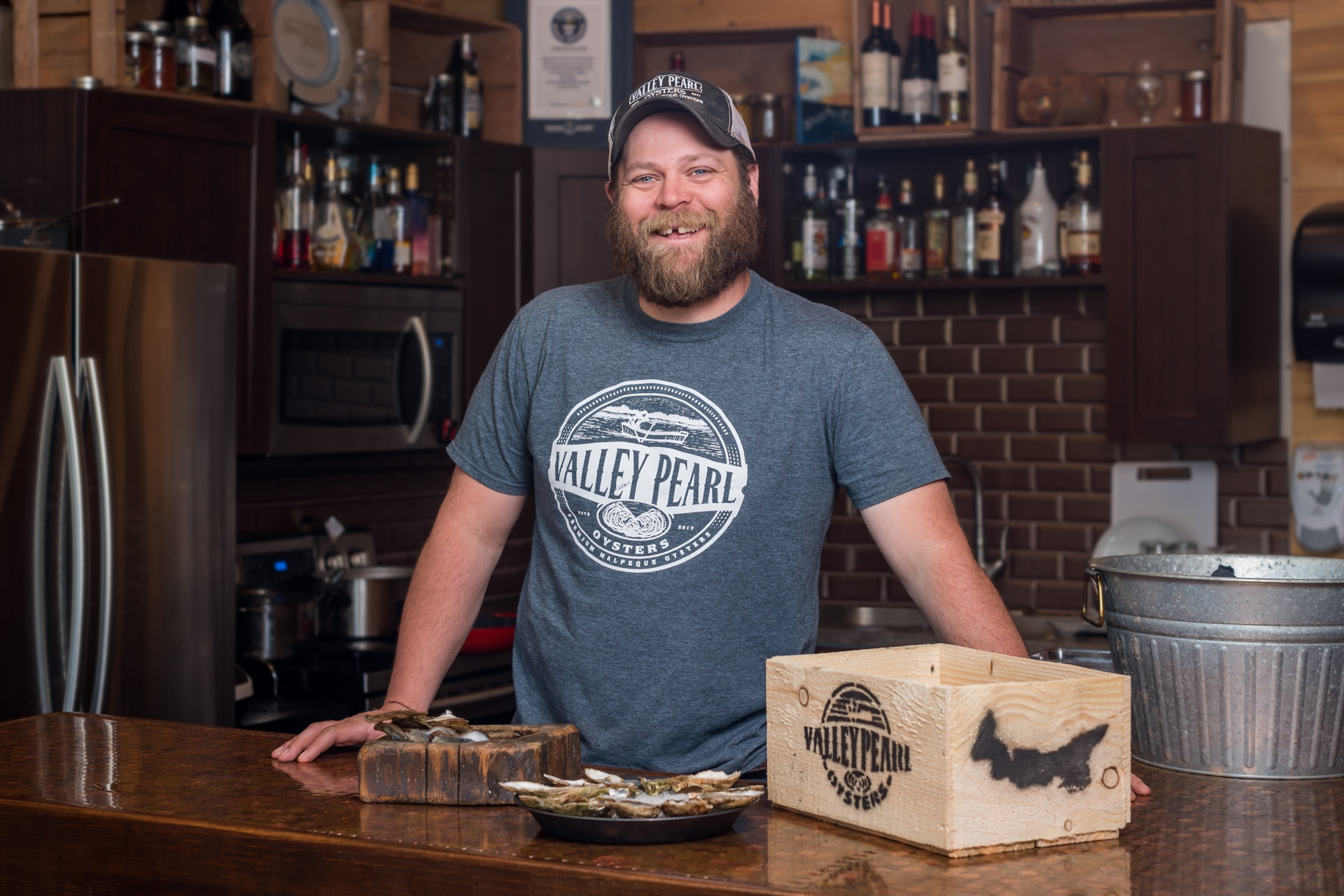 Jeff Noye, Valley Pearl Oyster Company