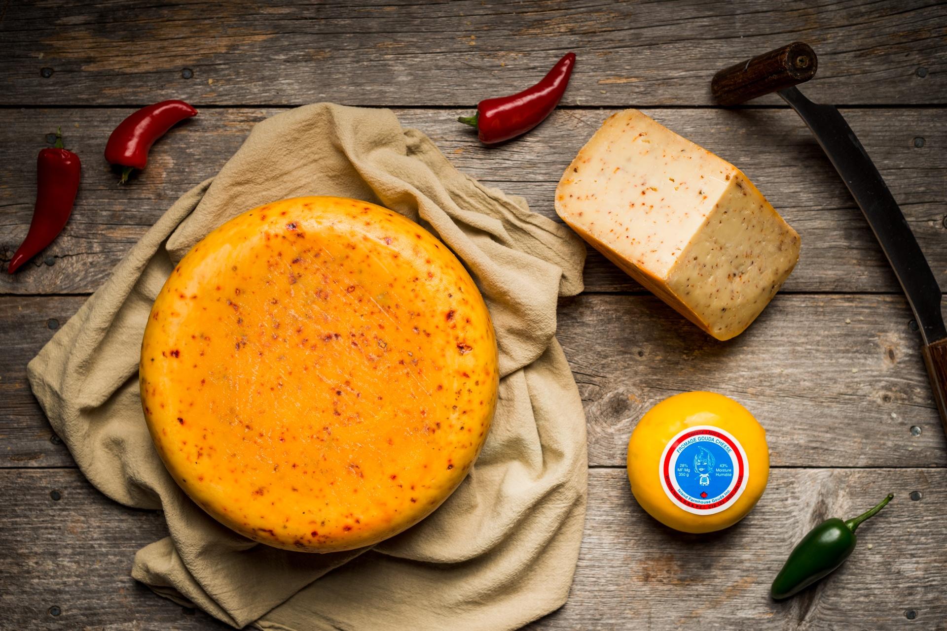 Glasgow Glen Farm Artisan Gouda Cheese