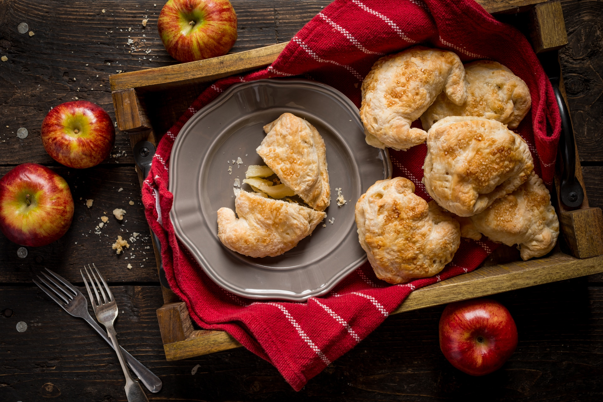Riverdale Orchard baked apple turnovers