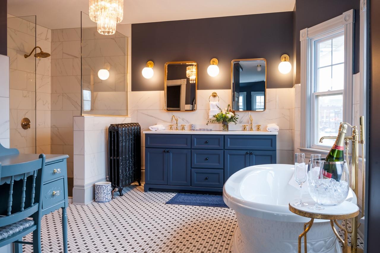 Slaymaker & Nichols master suite bath