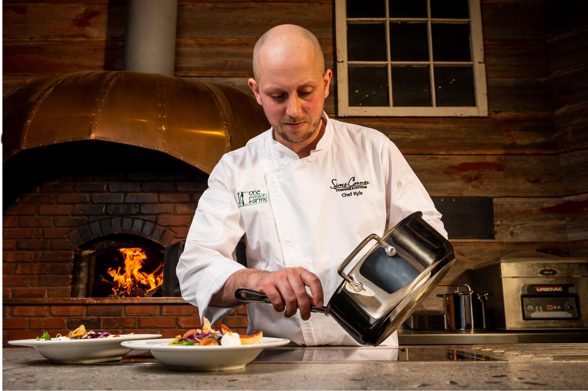 MEYER Chef Kyle Panton